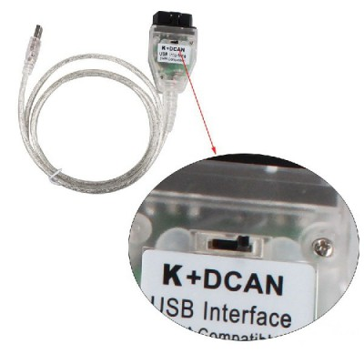 BMW Inpa K+DCAN interface USB NEW + SWITCH