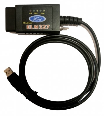 Ford HS + MS CAN OBD + ELM 327 (Forscan)
