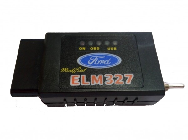 Ford HS + MS CAN OBD + ELM 327 Bluetooth (Forscan)