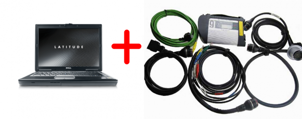 АКЦИЯ!!! MB Star Diagnosis C4 SDConnect + Ноутбук Dell